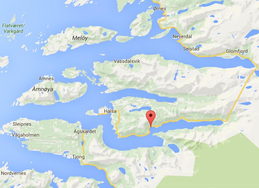 bilder amoniakkfabrikk glomfjord